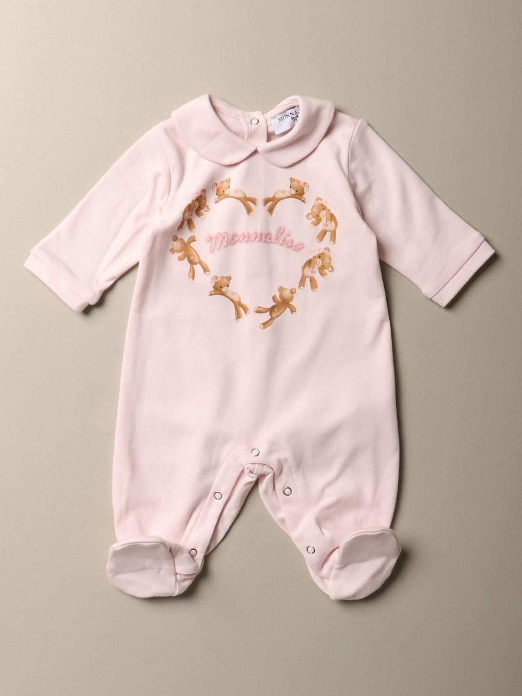 Anzug Monnalisa: Anzug kinder Monnalisa pink 1