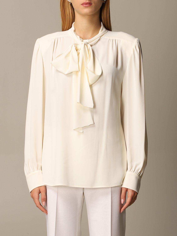 Chemise Alberta Ferretti: Chemise femme Alberta Ferretti blanc 1