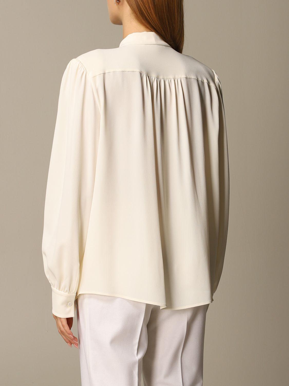 Chemise Alberta Ferretti: Chemise femme Alberta Ferretti blanc 3