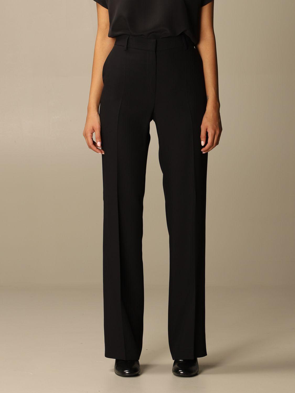 Pantalone Alberta Ferretti: Pantalone Chino Alberta Ferretti in misto viscosa nero 1