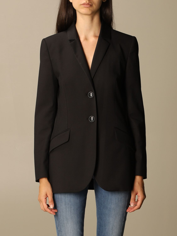 Blazer Boutique Moschino: Jacket women Boutique Moschino black 1