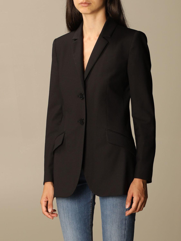 Blazer Boutique Moschino: Jacket women Boutique Moschino black 3