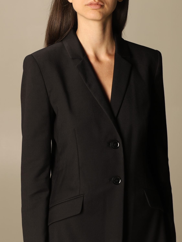 Blazer Boutique Moschino: Jacket women Boutique Moschino black 4