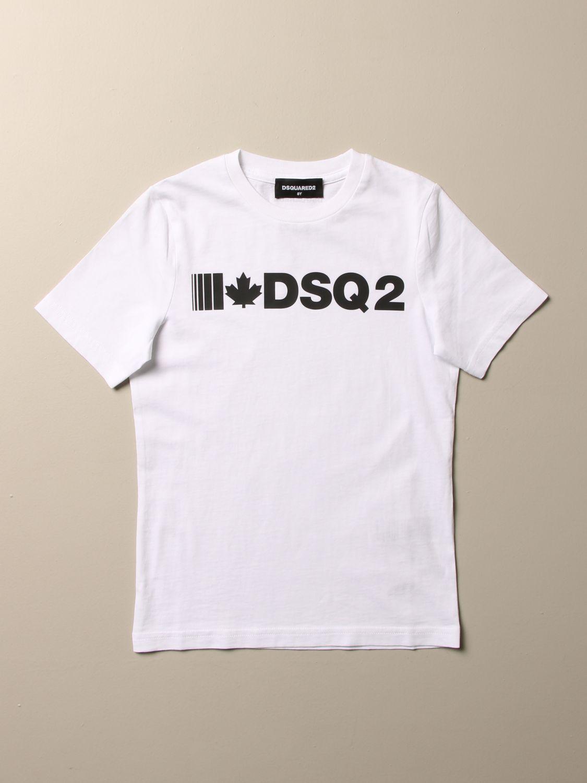 T-shirt Dsquared2 Junior: T-shirt kids Dsquared2 Junior white 1