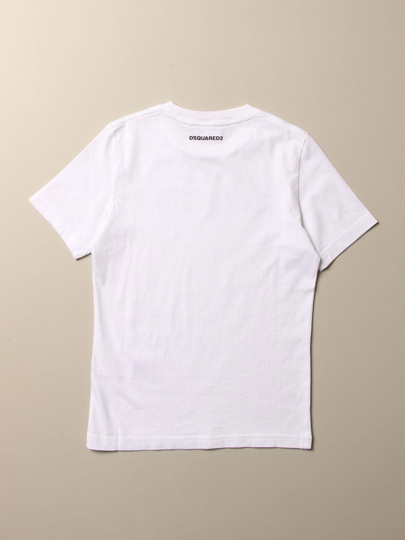 T-shirt Dsquared2 Junior: T-shirt kids Dsquared2 Junior white 2