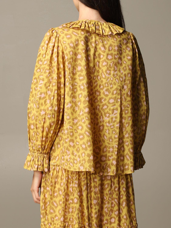 衬衫 Zimmermann: 衬衫 女士 Zimmermann 柠檬黄 3