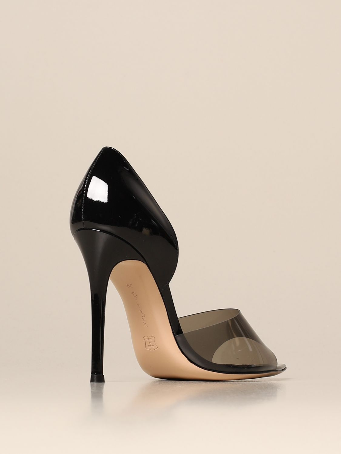 Chaussures à talons Gianvito Rossi: Chaussures à talons femme Gianvito Rossi noir 3