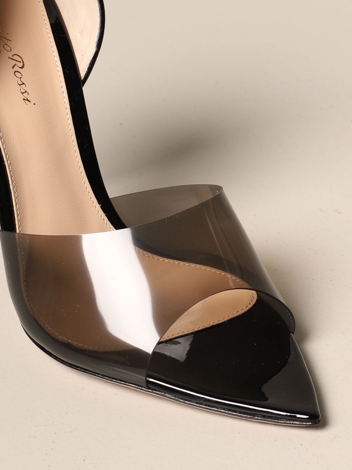 Chaussures à talons Gianvito Rossi: Chaussures à talons femme Gianvito Rossi noir 4