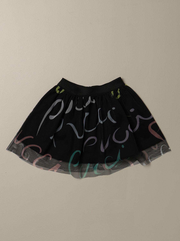 半身裙 Emilio Pucci: 半身裙 儿童 Emilio Pucci 黑色 1