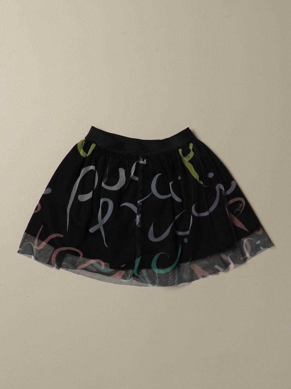 半身裙 Emilio Pucci: 半身裙 儿童 Emilio Pucci 黑色 2