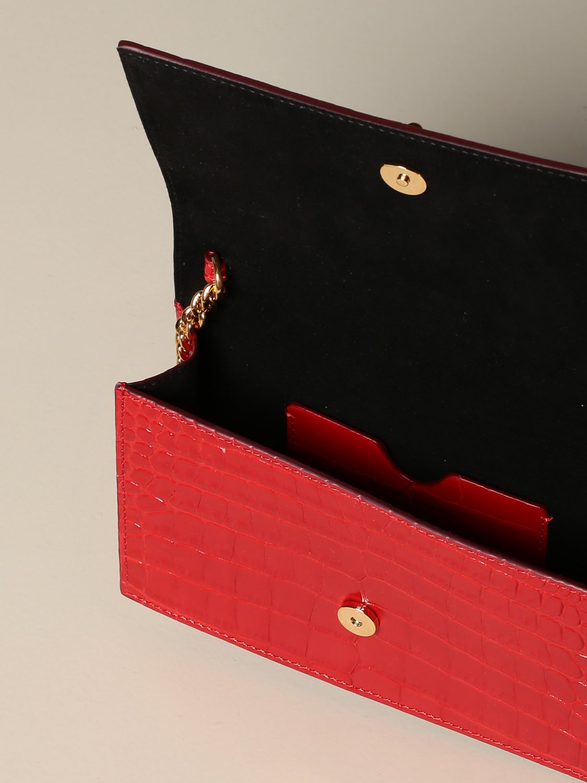 Сумка через плечо Alexander Mcqueen: Наплечная сумка Женское Alexander Mcqueen красный 5
