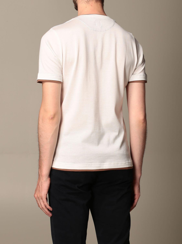 T-shirt Eleventy: T-shirt men Eleventy white 3