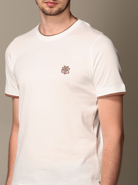 T-shirt Eleventy: T-shirt men Eleventy white 4