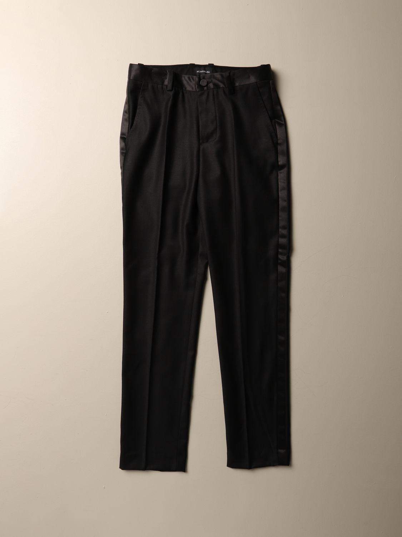 Trousers Monnalisa: Trousers kids Monnalisa black 1