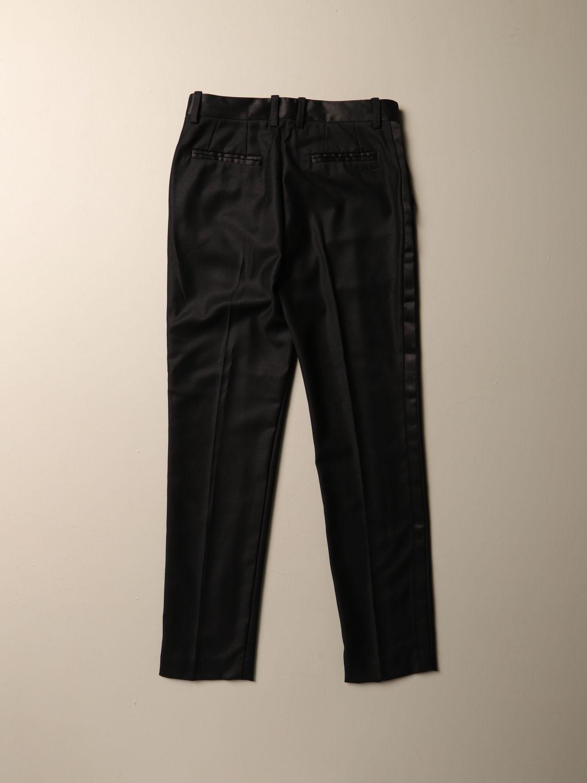 Trousers Monnalisa: Trousers kids Monnalisa black 2