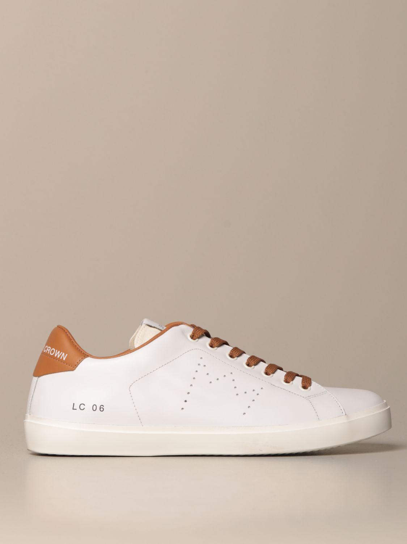 Sneakers Leather Crown MLC06 Giglio EN