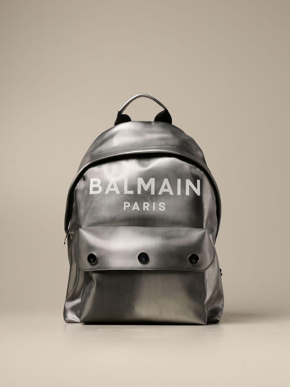 Backpack Balmain: Loafers men Balmain silver 1