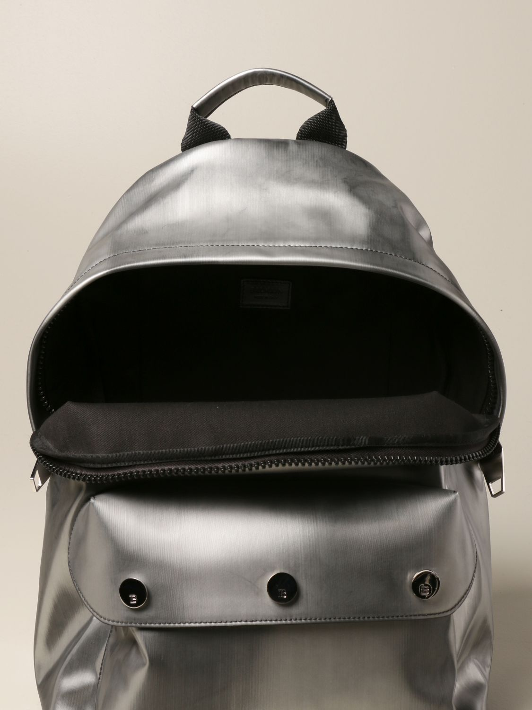 Backpack Balmain: Loafers men Balmain silver 4