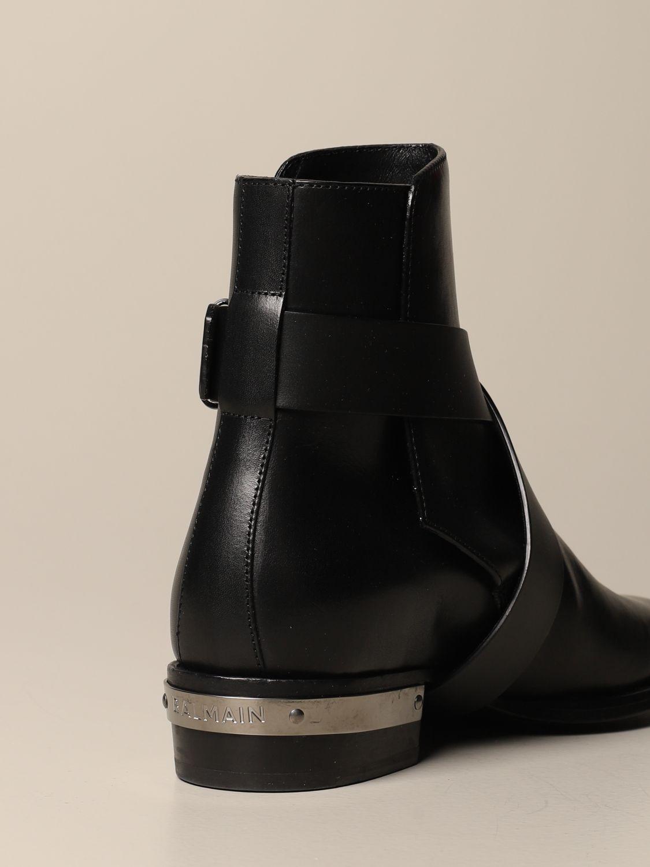 Ботинки челси Balmain: Ботинки челси Мужское Balmain черный 3