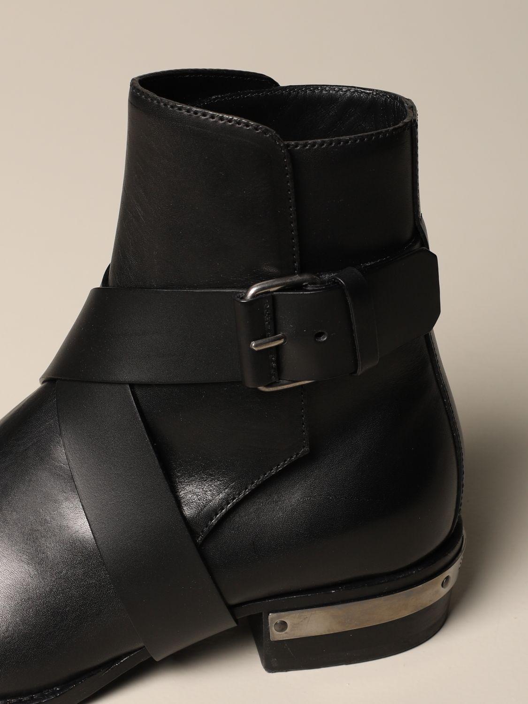 Ботинки челси Balmain: Ботинки челси Мужское Balmain черный 4