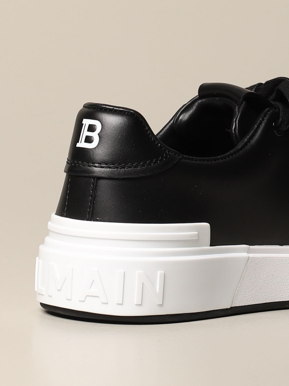 Sneakers Balmain: Balmain sneakers in leather with logo multicolor 3