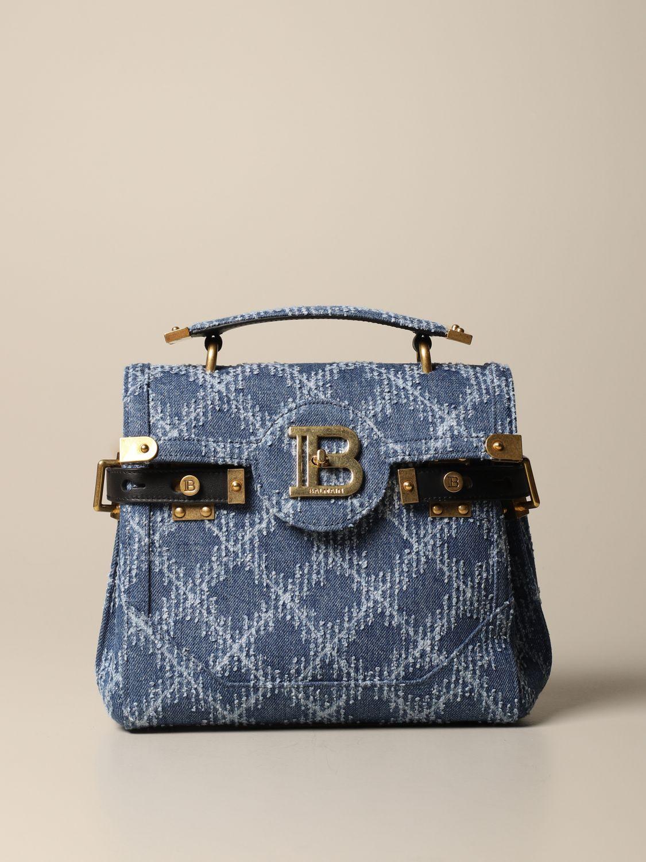 Handbag Balmain: Handbag women Balmain denim 1