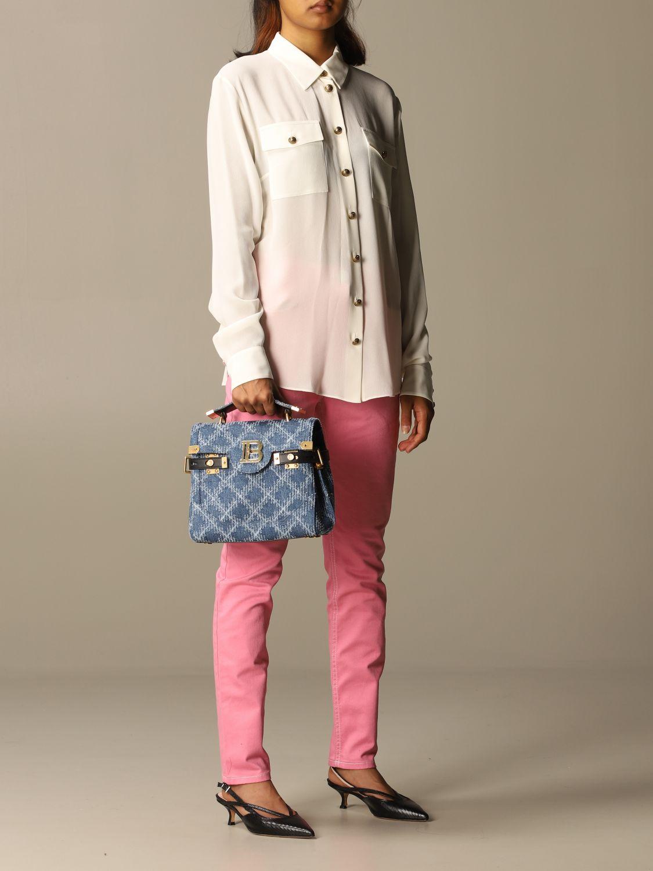 Handbag Balmain: Handbag women Balmain denim 2