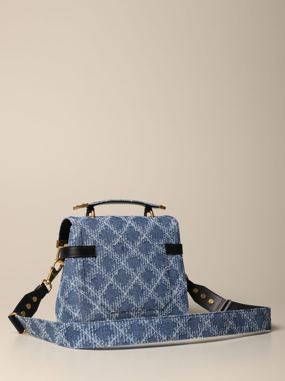 Handbag Balmain: Handbag women Balmain denim 3
