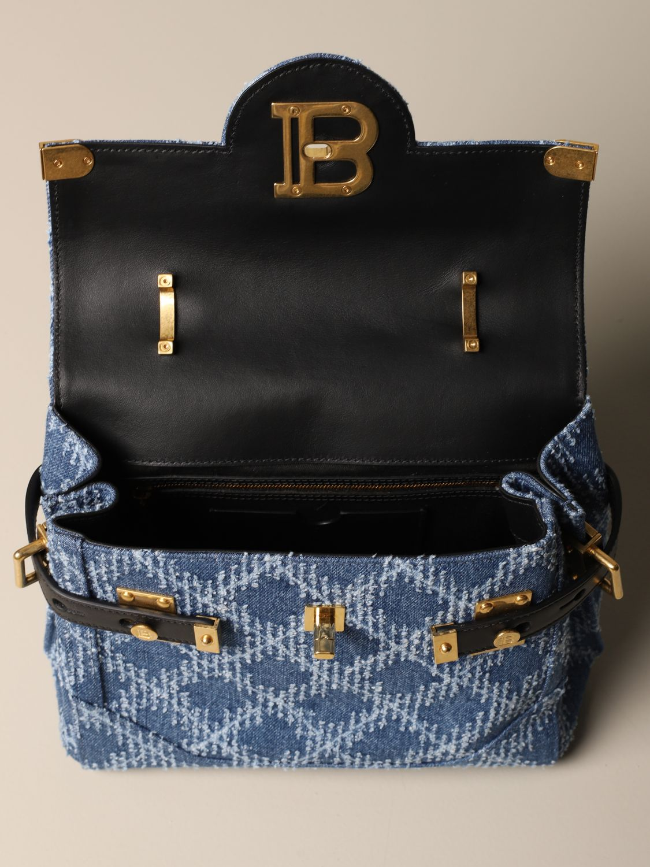 Handbag Balmain: Handbag women Balmain denim 5