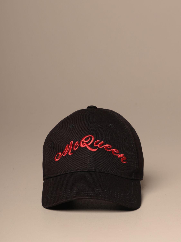 Hat Mcq Mcqueen: Mcq Mcqueen baseball cap with logo black 2