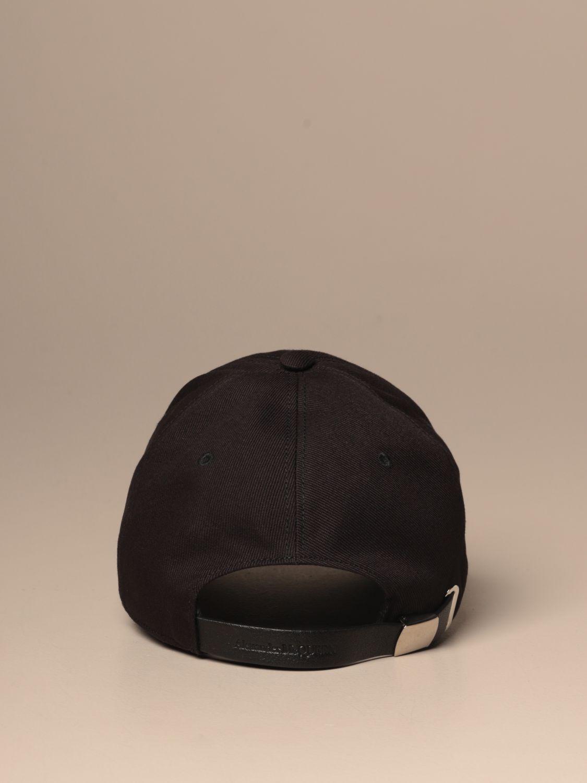 Hat Mcq Mcqueen: Mcq Mcqueen baseball cap with logo black 3