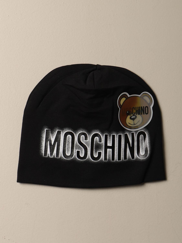 Hat girl Moschino Kid: Hat girl kids Moschino Kid black 1