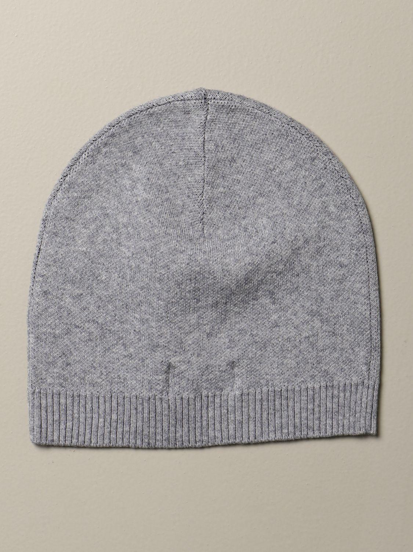 Hat Moschino Kid: Moschino Kid beanie hat grey 2