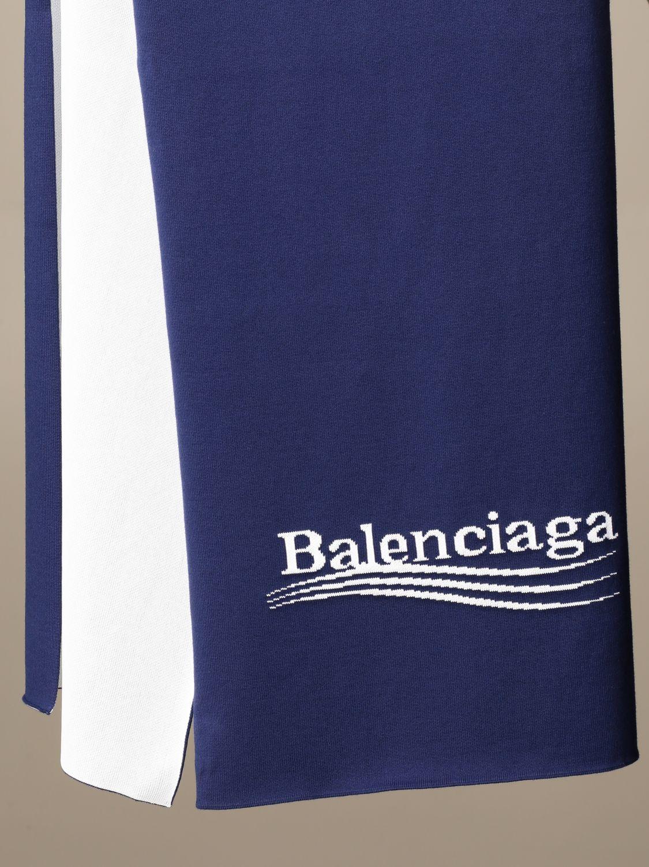 Écharpe Balenciaga: écharpe homme Balenciaga bleu 3
