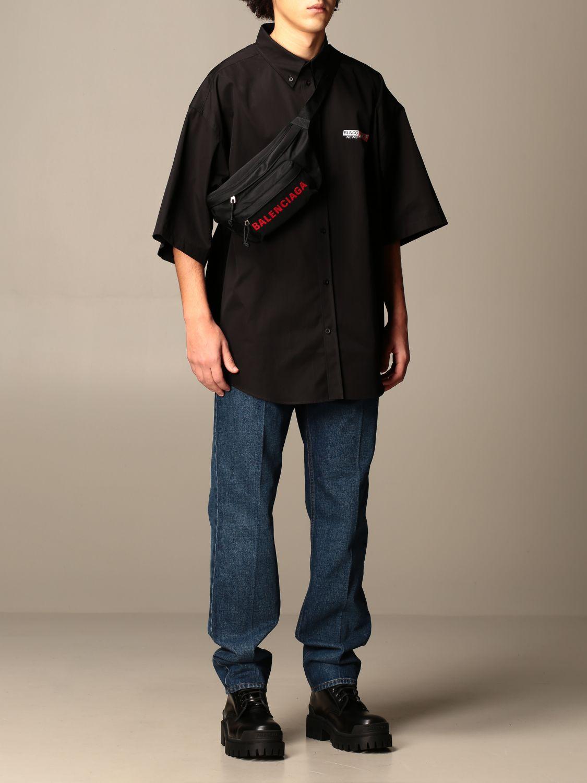 Shirt Balenciaga: Shirt men Balenciaga black 2