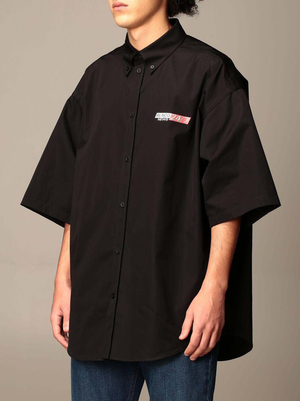 Shirt Balenciaga: Shirt men Balenciaga black 4