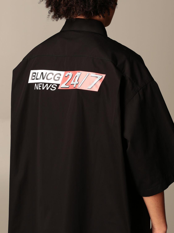 Shirt Balenciaga: Shirt men Balenciaga black 5