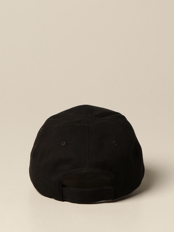 Cappello Balenciaga: Cappello da baseball Balenciaga con logo nero 3