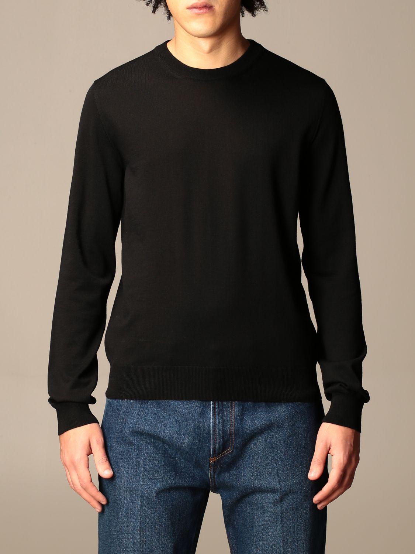 Sweatshirt Balenciaga: Balenciaga crewneck sweater with back logo black 1