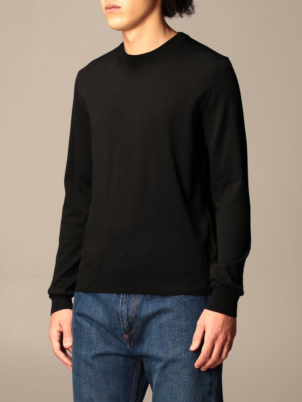 Sweatshirt Balenciaga: Balenciaga crewneck sweater with back logo black 4