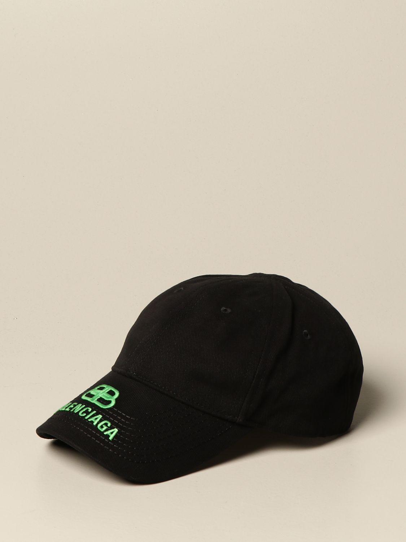 Hat Balenciaga: Balenciaga baseball cap with logo black 1