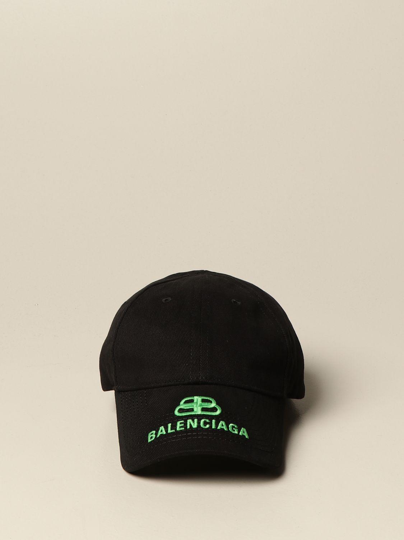 Hat Balenciaga: Balenciaga baseball cap with logo black 2
