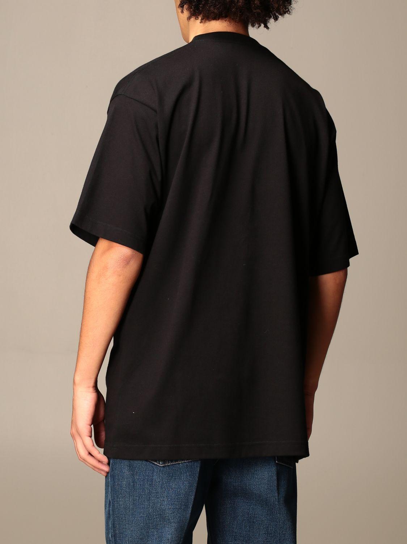 T-shirt Balenciaga: Balenciaga t-shirt with gym wear logo black 3