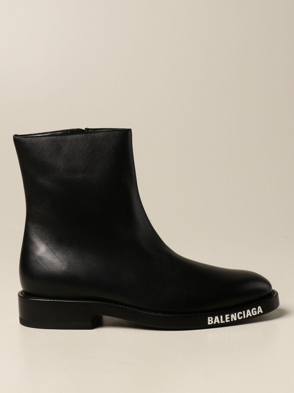 Boots Balenciaga: Balenciaga ankle boot in calfskin black 1