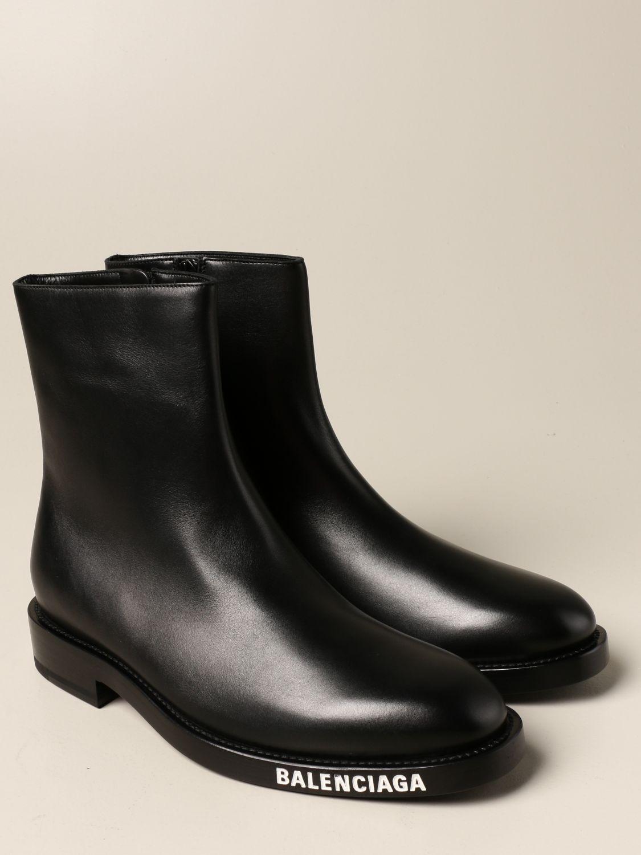 Boots Balenciaga: Balenciaga ankle boot in calfskin black 2