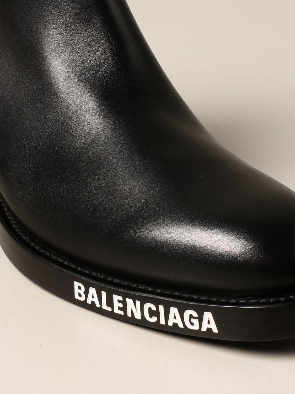 Boots Balenciaga: Balenciaga ankle boot in calfskin black 4