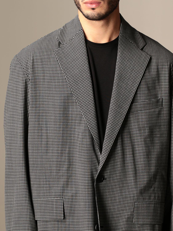 Giacca Balenciaga: Giacca a monopetto Balenciaga over fit nero 5