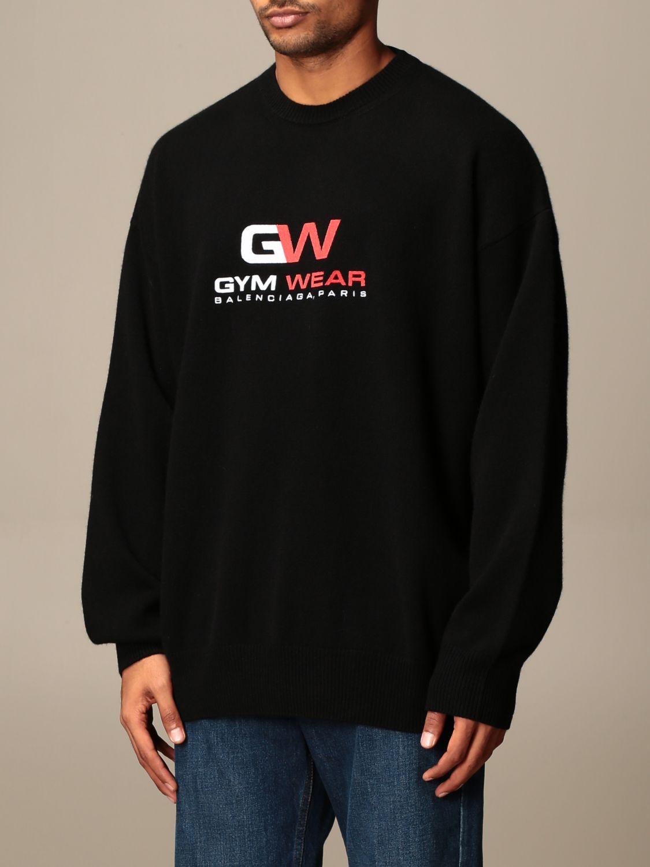 Sweatshirt Balenciaga: Sweatshirt men Balenciaga black 3