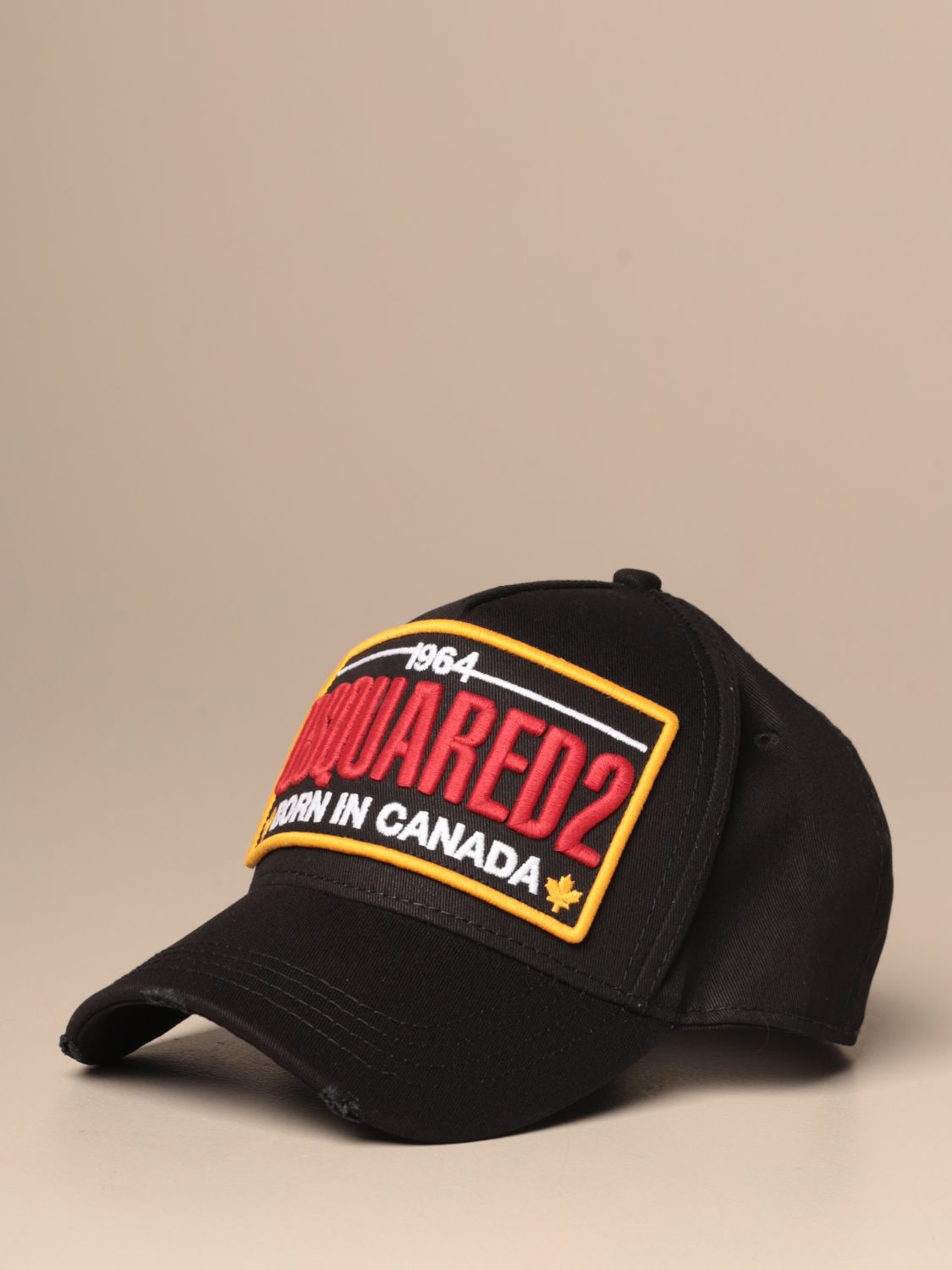 Hat Dsquared2: Dsquared2 baseball cap with embroidered logo navy 1