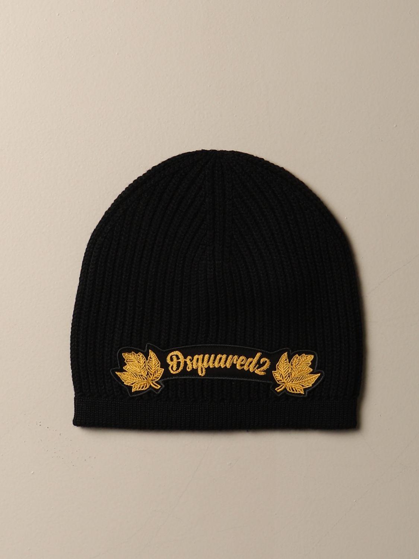 Chapeau Dsquared2: Chapeau femme Dsquared2 jaune 1